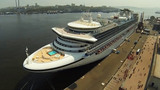 Лайнер Diamond Princess во Владивостоке